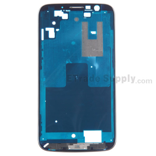 For Samsung Galaxy Mega 6.3 I9200 Front Housing Replacement - Black - Grade S+