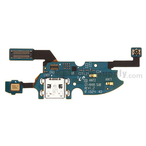 For Samsung Galaxy S4 Mini I9195 Charging Port Flex Cable Ribbon  Replacement - Grade S+