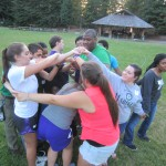 UW Bothell Students at Husky Leadership Camp