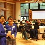Emma Catague and Velma Veloria, UW Anti-Human Trafficking Conference