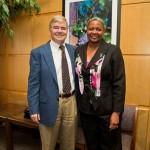 MCAC Honors President Emmert
