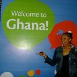 Ariel Davis Welcome to Ghana