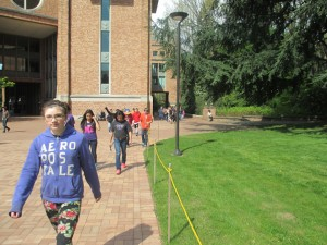 Educational Talent Search: Cascade Middle School Visits UW