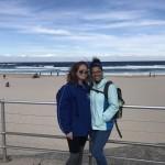 Cara and Lunder on Bondi Beach