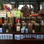 A range of teas, each with a unique taste and properties