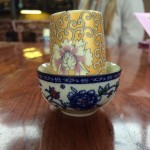 Tea during a tea ceremony in Shanghai
