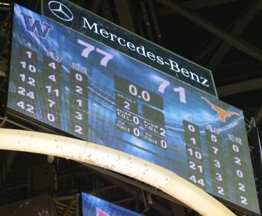 Final Score: Huskies 77, Longhorns 71