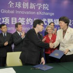 A partnership created in June with the launch of the Global Innovation Exchange was further deepened Monday in Beijing as the University of Washington and Tsinghua University signed an agreement creating a dual degree program.