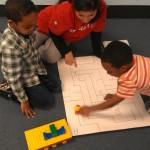 Preschool Children Learn Alphabet