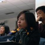 Photo of student listening