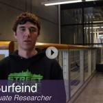 Video still of Chris Burfeind