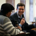 Bob Ferguson speaks during one of the 2018 Leadership Firesides.