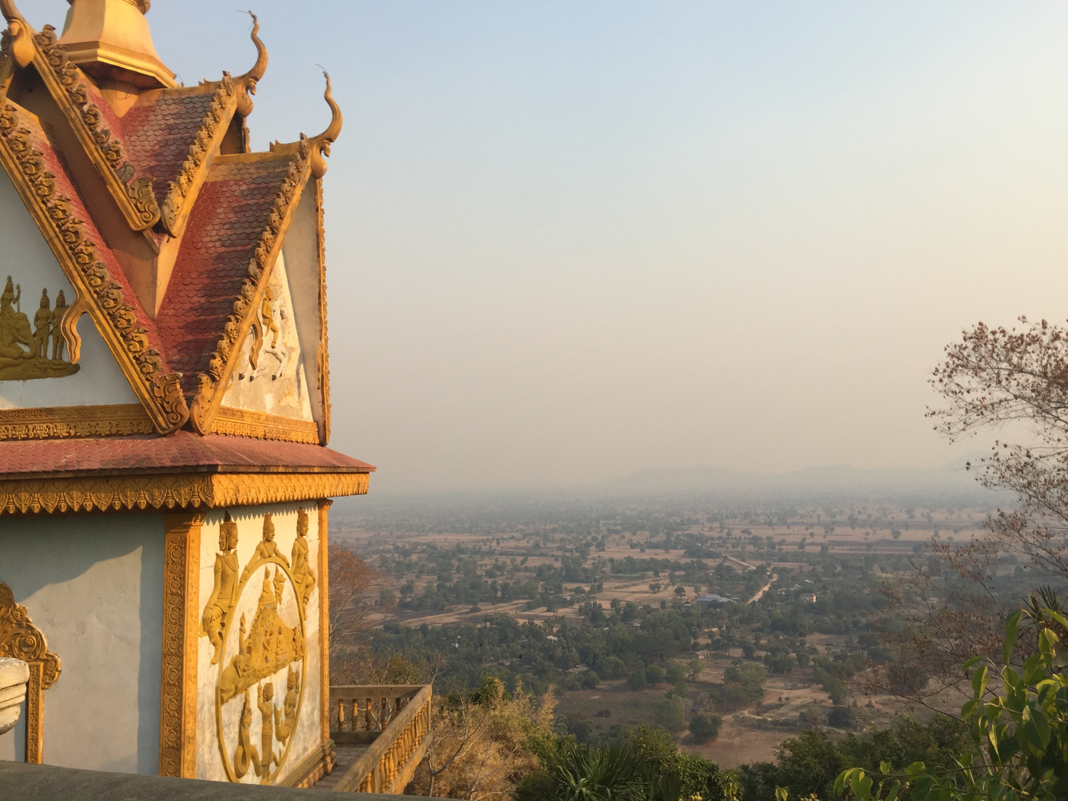 Varsha also traveled extensively throughout Cambodia. Pictured here is Battambang, Cambodia.