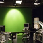 Green screen available. Cyc wall also available (not pictured).