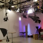Setting up the lighting for Cultivate Learning's Circle Time Magazine shoot.
