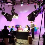 Recording the series Cultivate Learning's Circle Time Magazine in Studio K.