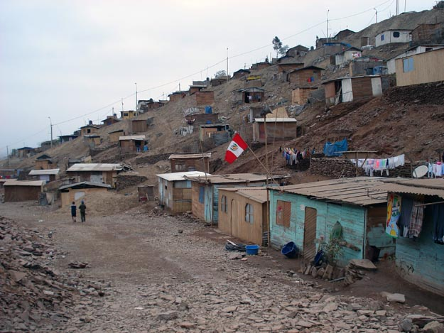 Puente Piedra, a slum near Lima,Peru, is now benefiting from the guidance of UW students and faculty, including landscape architect Ben Spencer, president of the Seattle Chapter of Architects without Borders, and UW Forest Resources professor Susan Bolton, president of the UW Chapter of Engineers without Borders.