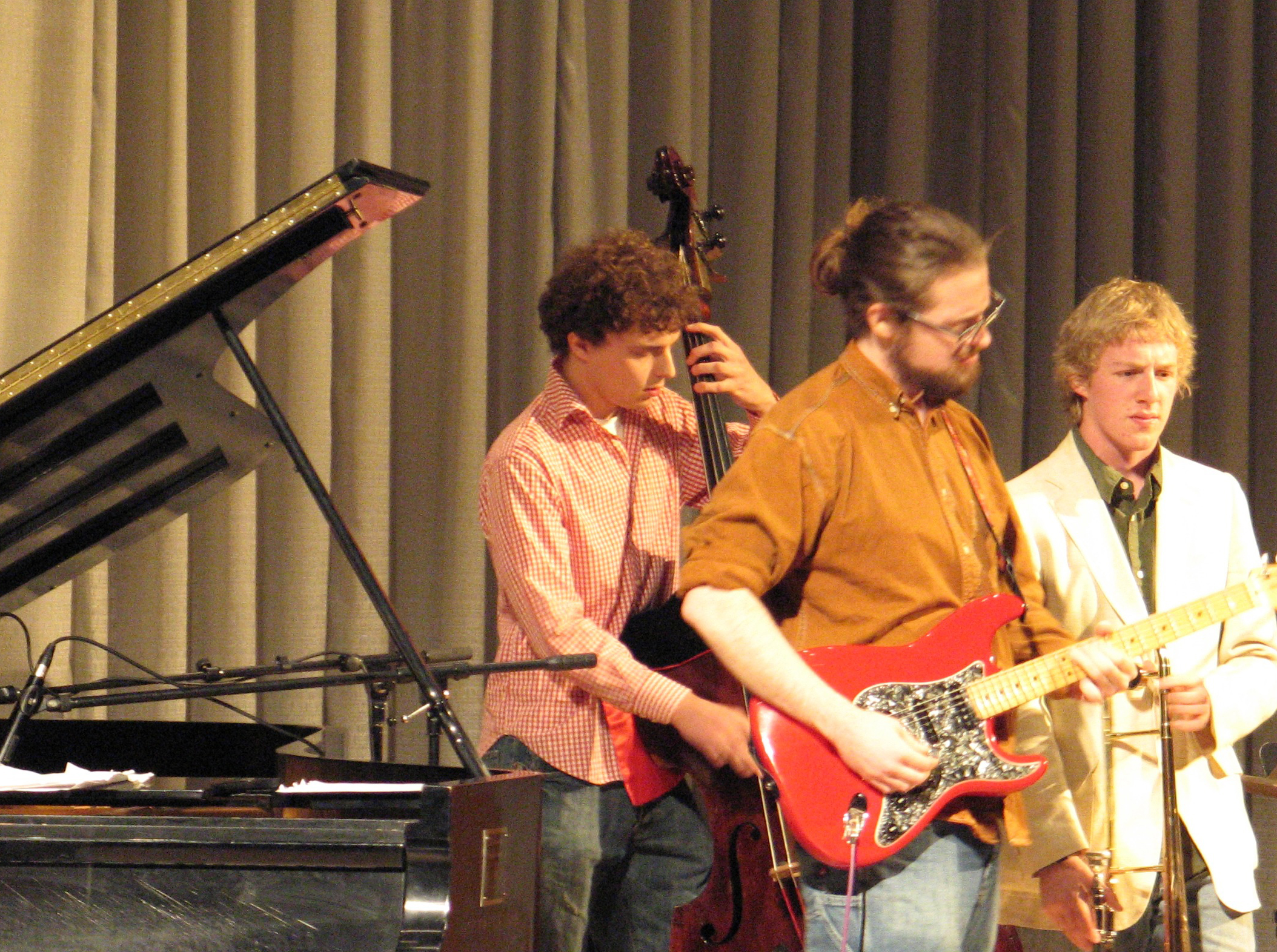 Student musicians perform jazz Dec. 1 and 2.