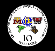 Class of 2000 graduates from Tacomas Foss, Lincoln, Mount Tahoma, Stadium and Wilson high schools are encouraged to fill out the 10-year follow up survey.