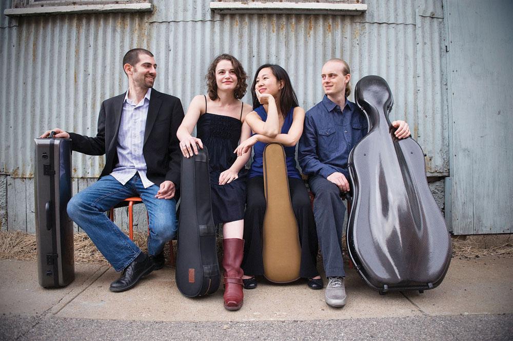 The Chiara String Quartet.
