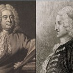 "Soprano Megan Huckabay and harpsichordist Jonathan Bezdegian rehearse for ""Handel and Fielding: Italian Opera and English Song."""