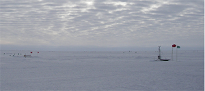 This station gathers weather information from a location near the middle of the West Antarctic Ice Sheet.