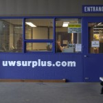 Its hard to miss the Surplus Store now with its attention-getting paint job.