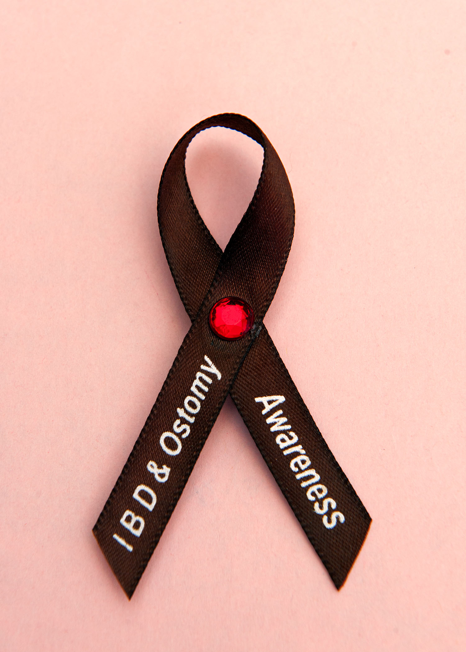 The ribbon for inflammatory bowel disease and ostomy surgery awareness.