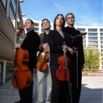 The Cuarteto Casals string quartet.