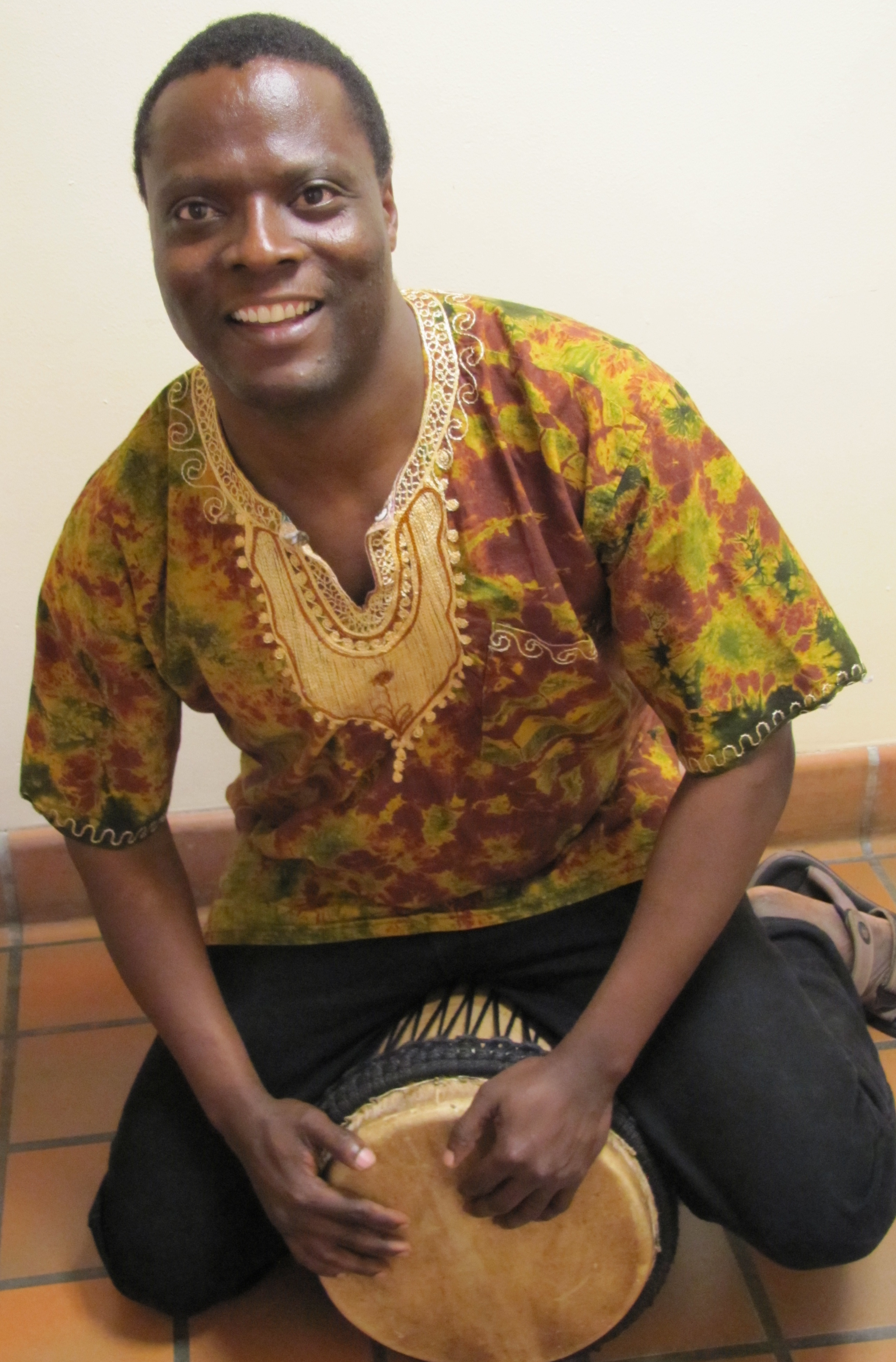 Kedmon Mapana, an artist in residence at the School of Music from the Wagogo region of central Tanzania, will present a concert with his students featuring choral music, dance, and instrumental music of Tanzania's Wagogo people Dec. 6 in Brechemin Auditorium.