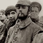 Group of World War I soildiers