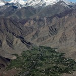 Leh, India, just a few days before a devastating 2010 flood.