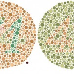 A test for color blindness.