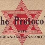 The cover the The Protocols of the Elders of Zion.