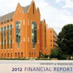 Cover of 2012 Fiscal Report shows engineering building