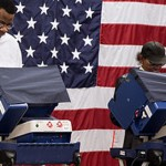 Voters cast ballots in the 2012 election.