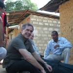 Dr. Christopher Murray in Tanzania