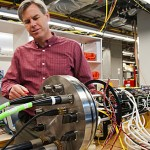 Applied Physics Laboratory engineer Mike Harrington leads development of the science junction boxes for the underwater laboratory..