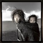 Phil Borges Tibet portrait