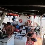 photo on boat