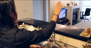 Wi-Fi signals enable gesture recognition throughout entire home
