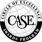 Logo of world with CASE