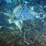 instrument on seafloor