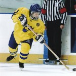 Ice hockey is one of the sports associated with increased risk of head concussions for both male and female young athletes.