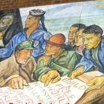 "Part of the mural ""Struggle Against Racial Descrimination"""
