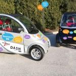 Micro electric cars.