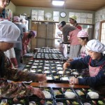 """Konohana Family, Litfin writes, is an ecovillage """"that sits under the towering presence of Japan's Mt. Fuji (and) takes its name from the goddess once thought to inhabit this venerable mountain."""" The village is almost completely food self-sufficient, and here residents prepare organic vegetarian meals for hundreds of people in the region. As of 2012, the village comprised about 58 adults and 25 children."""