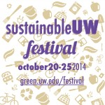 SustainableUW Festival square logo