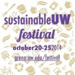 SustainableUW Festival square logo