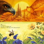 Two images from Native-American-authored children's books.